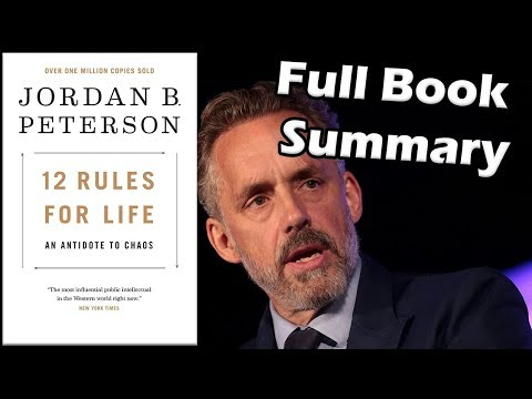 12-rules-for-life-an-antidote-to-chaos-by-jordan-peterson-book-summary-animated