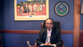Navajo Nation Vice President Rex Lee Jim Christmas Message