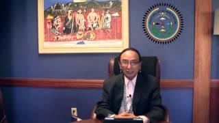 Navajo Nation Vice President Rex Lee Jim Christmas Message