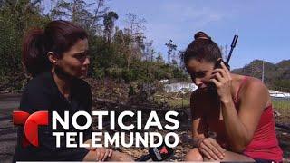 El momento en que le comunica a su hermano que su abuelo ha muerto | Noticiero | Noticias Telemundo