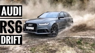 AUDI RS6 Performance DRIFT – V8 4.0 BiTurbo, 605 hp, 750 Nm, 0-100 km/h – 3.7 s!