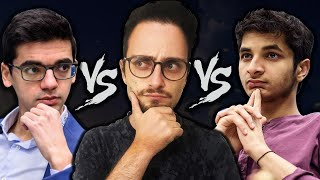 Bullet match Vidit vs Anish vs Levy Rozman aka GothamChess PART2