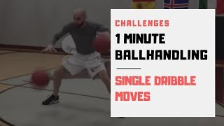 How to Improve your Dribbling Challenge | Single Dribble Moves