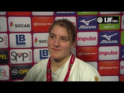 Andreja LESKI (SLO) Winner Judo GS Dusseldorf 18