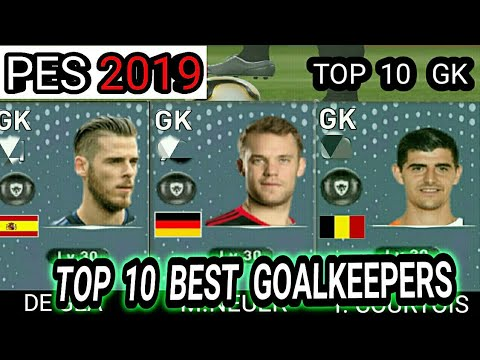 PES 2019 | TOP 10 BEST GOALKEEPERS RATING PREDICTION