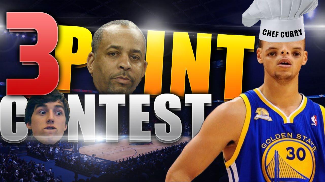 FATHER VS SON THREE POINT CONTEST NBA 2K16 DELL CURRY VS STEPHEN