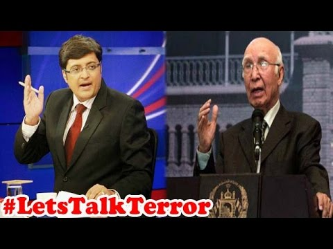 Pakistan Deliberately Avoided Terrorism Issue in NSA : The News Hour Debate (21st August 2015 )