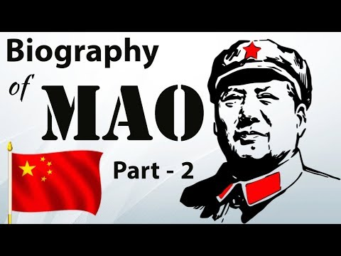 Biography of Mao Zedong Part 2 - The father of Chinese revolution and Chinese Civil War
