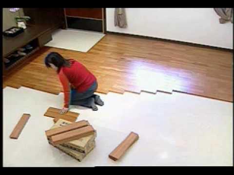 EZ卡DIY實木地板選配及操作說明