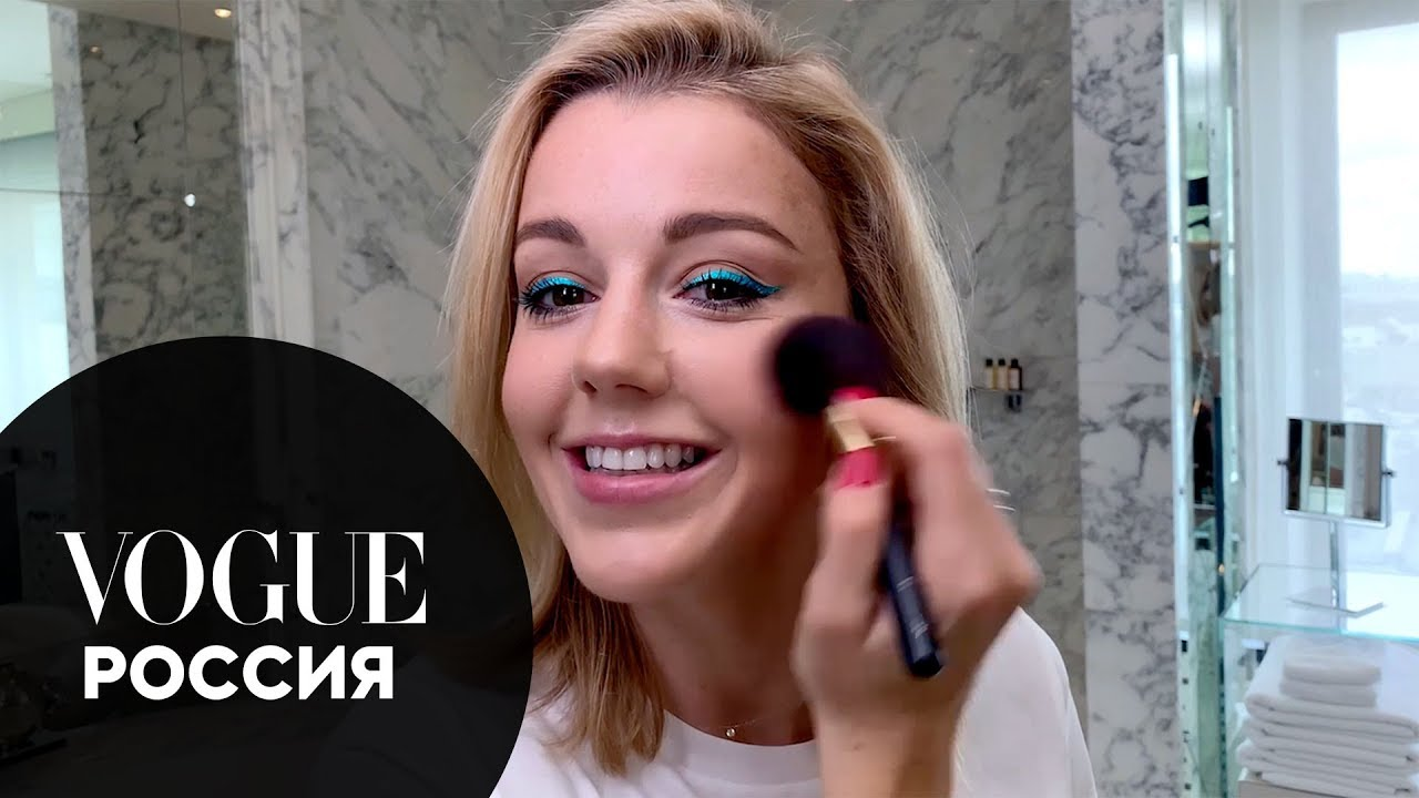 Мастер класс по макияжу от Юлианны Карауловой