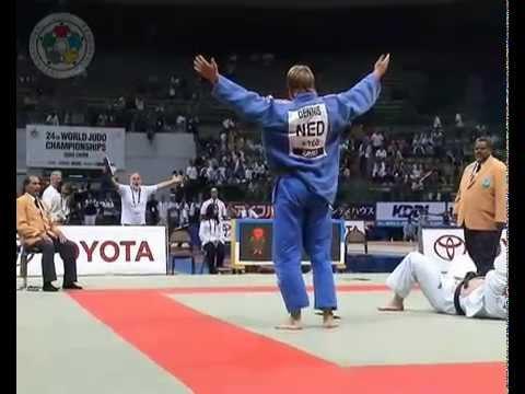 JUDO 2005 World Championships: Dennis van der Geest (NED) - Tamerlan Tmenov (RUS)