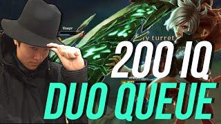 imaqtpie 200 iq duo queue ft pobelter