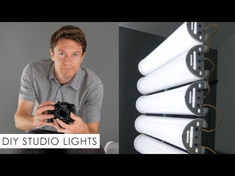 DIY Studio Lights - How To Build Your Own!