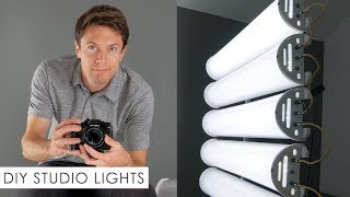 "DIY Homemade ""YouTube Studio"" Lights - Build Your Own!"