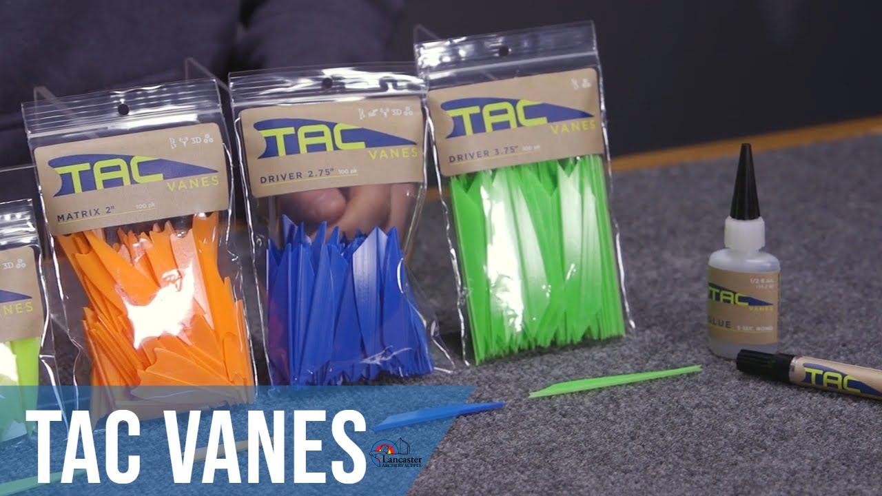 """VaneTec V-Max Vanes Green archery plastic arrow fletching vane 4"""" 100 Pack"""
