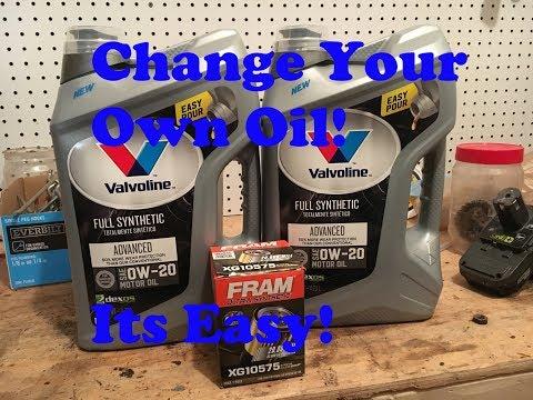 Oil Change - How To 2014-2018 Chevy Silverado 5.3L V8