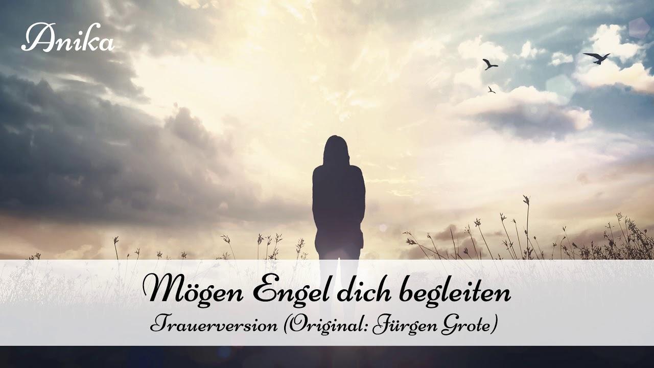 Mögen Engel Dich Begleiten Trauerversion