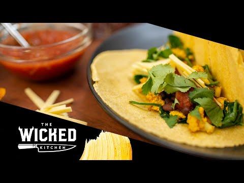 Vegan Breakfast Tacos | The Wicked Kitchen