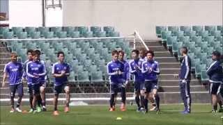 2015年3月28日 サッカー日本代表 大分合宿公開練習