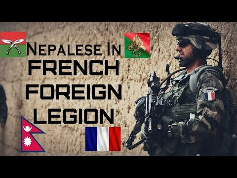 Gurkhas in French Foreign Legion 2015 |Legion Etrangere | FFL | French Army | Armee de Terre