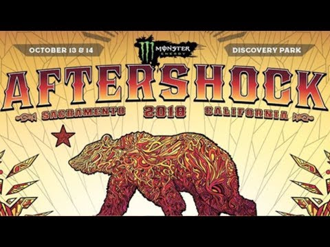 Aftershock Festival 2018 Official Lineup