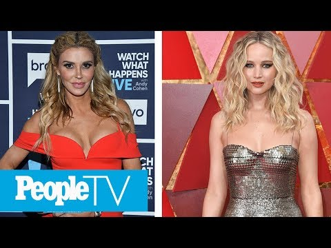 Brandi Glanville Says She Couldn't Even Believe That Jennifer Lawrence Knew Her Name | PeopleTV