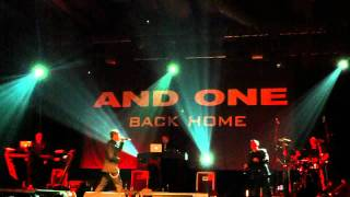 And One feat. Eskil Simonsson (Covenant) - Der Liermann (Live in Berlin 2011-11-12)