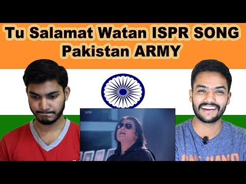 Indian reaction on Tu Salamat Watan Song | Pakistan Army | ISPR | Swaggy d