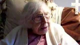 106-year-old woman telling a joke