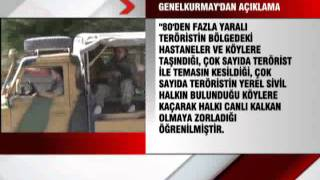 TSK: 100 Terörist Etkisiz Hale Getirildi