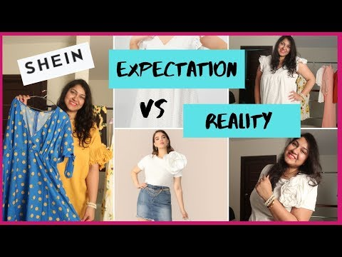 SHEIN Haul - PLUS SIZE  | DX.com, Curvy Fashion India | Priyanka Boppana