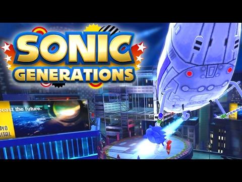 [World Record] Sonic Generations - Speed Highway Act 1 - Speed Run (01:01.88)