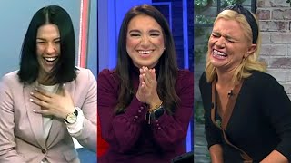 20 News Anchors Can't Stop Laughing In 2020
