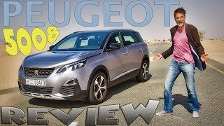 2018 Peugeot 5008 Review - very uncararistic (sic!)