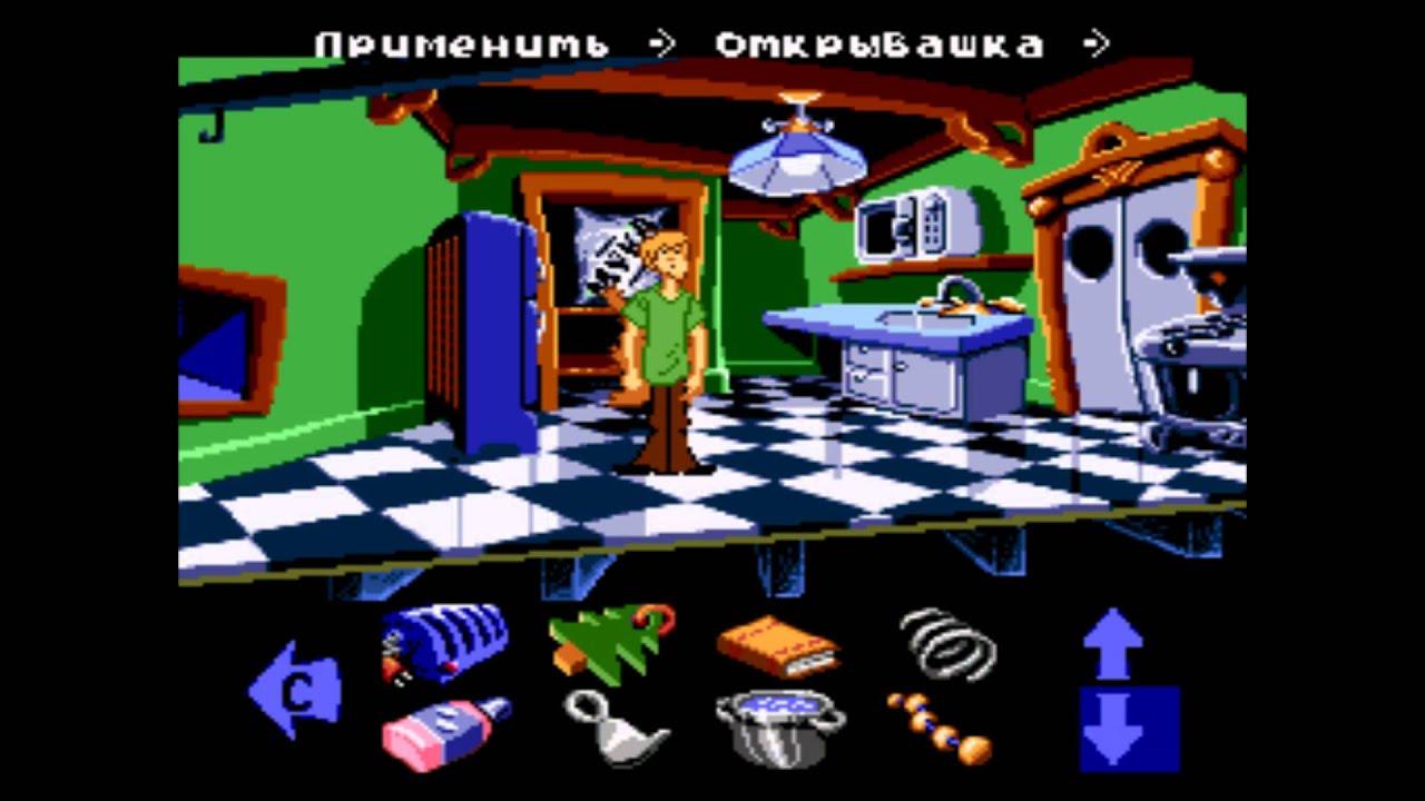Скачать scooby doo mystery rus sega