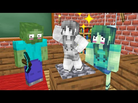 Monster School : PREGNANT CHALLENGE - Minecraft Animation