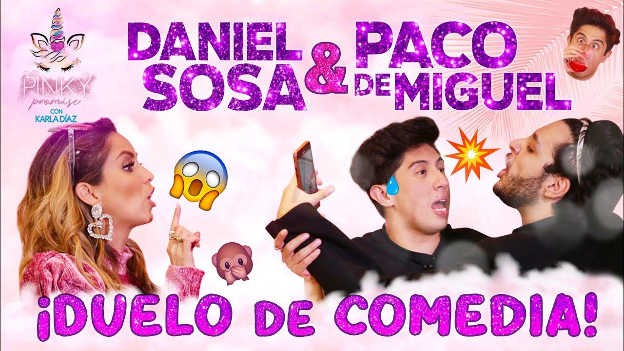 Daniel Sosa y Paco De Miguel en Pinky Promise - T1 - Ep4