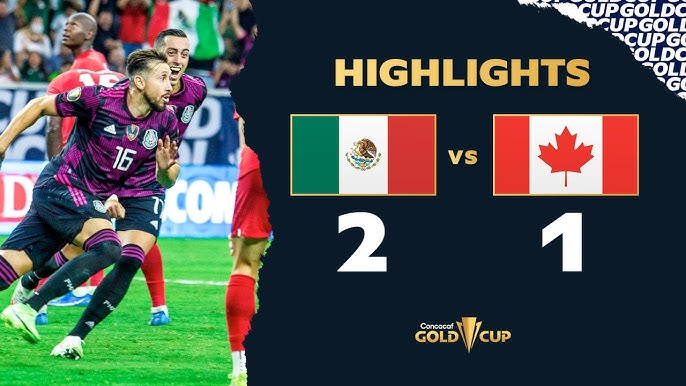 Highlights: Mexico 2-1 Canada - Gold Cup 2021