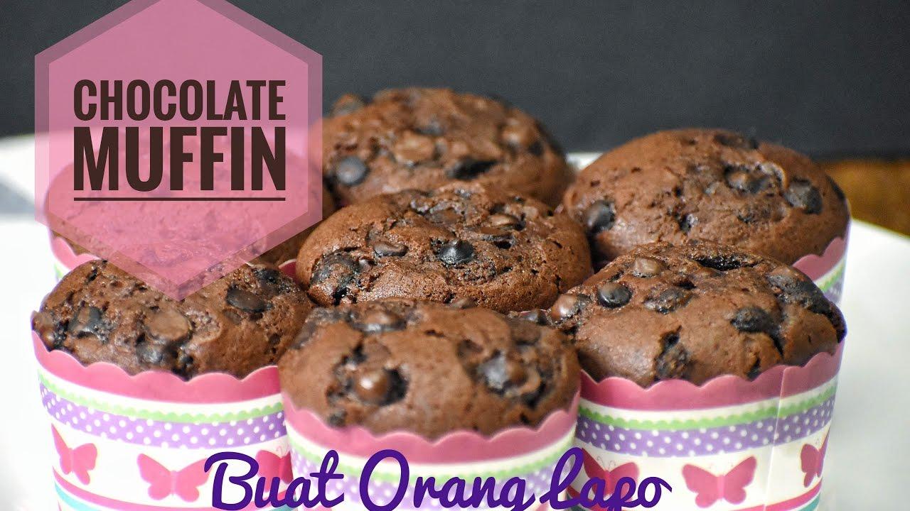 Chocolate Muffin Muffin Coklat