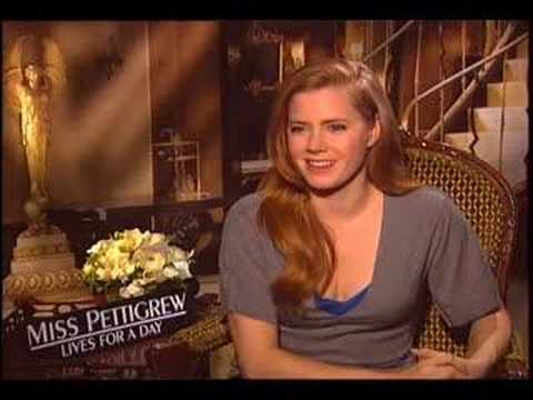 Renee Interviews Amy Adams and Lee Pace