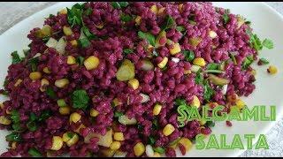 Şalgamlı Bulgur Salatası Hangi Malzemelerden Yapılıyor? Şalgamlı Bulgur Salatası Yapılışı