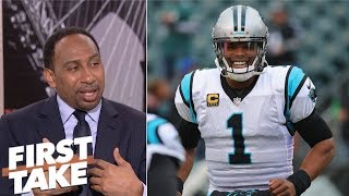 Stephen A. Smith: Cam Newton not getting enough credit for Panthers' strong start | First Take