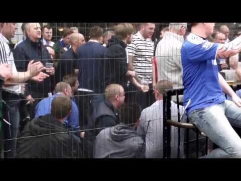 Chelsea fans at The Globe before FA Cup semi 2013 v Man City (2)