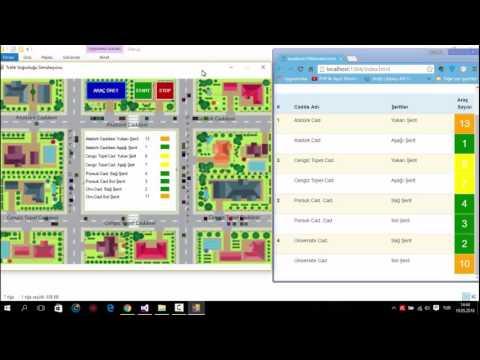 Xml ile Trafik Simülasyonu Yapımı