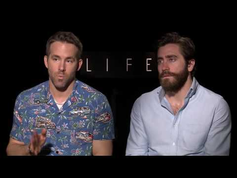 Life: Ryan Reynolds and Jake Gyllenhaal Interview
