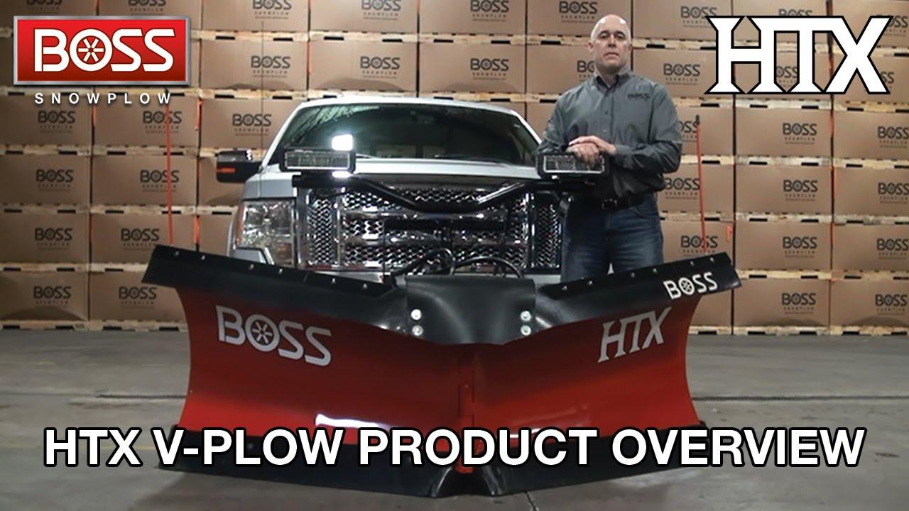 htx v plow product overview boss snowplow [ 1280 x 720 Pixel ]