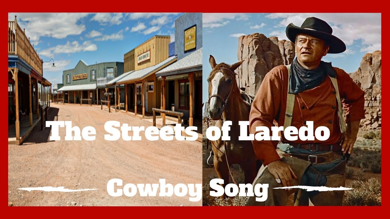 STREETS OF LAREDO (Cowboy Songs of the Old West) #12 Voice of the Wild West
