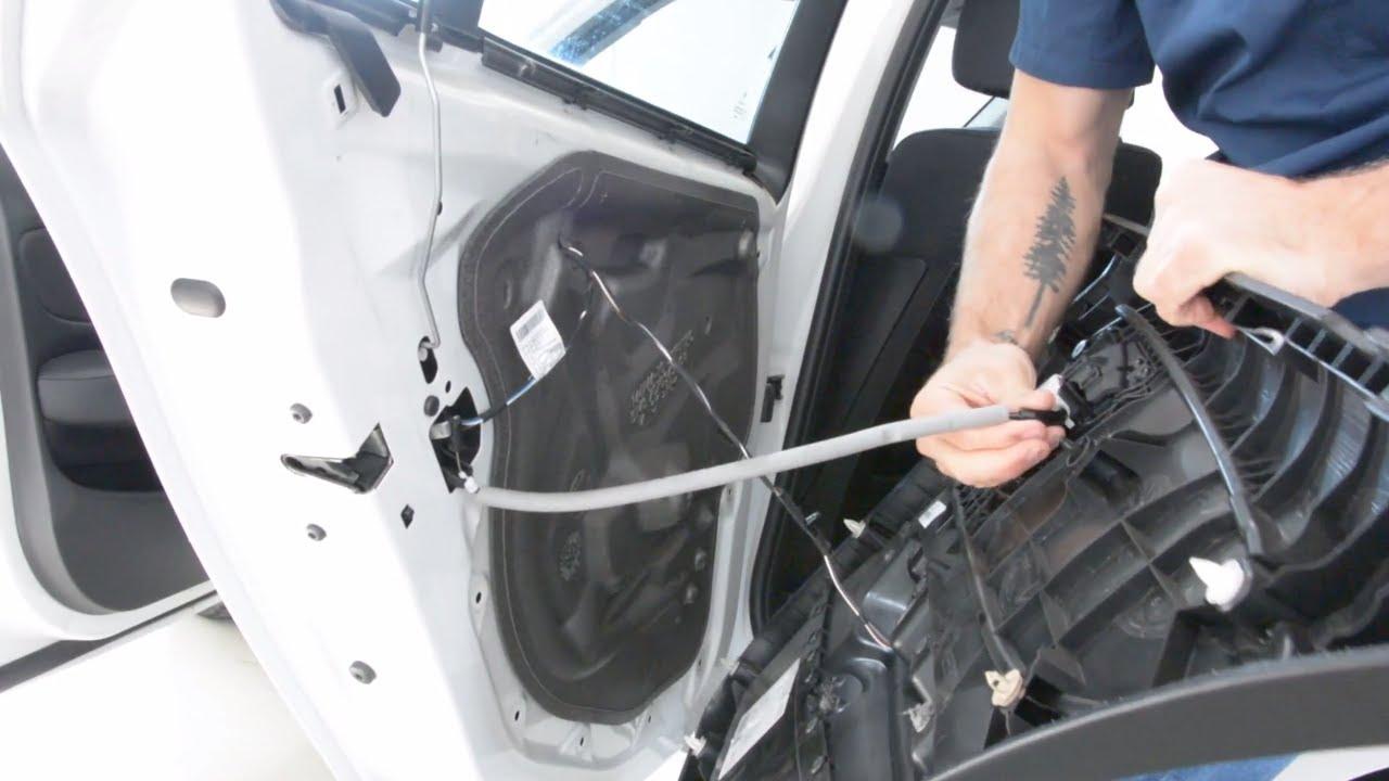 Window Regulator Repair Kit Rear Right Door for BMW 1 E87 5-door Hatchback