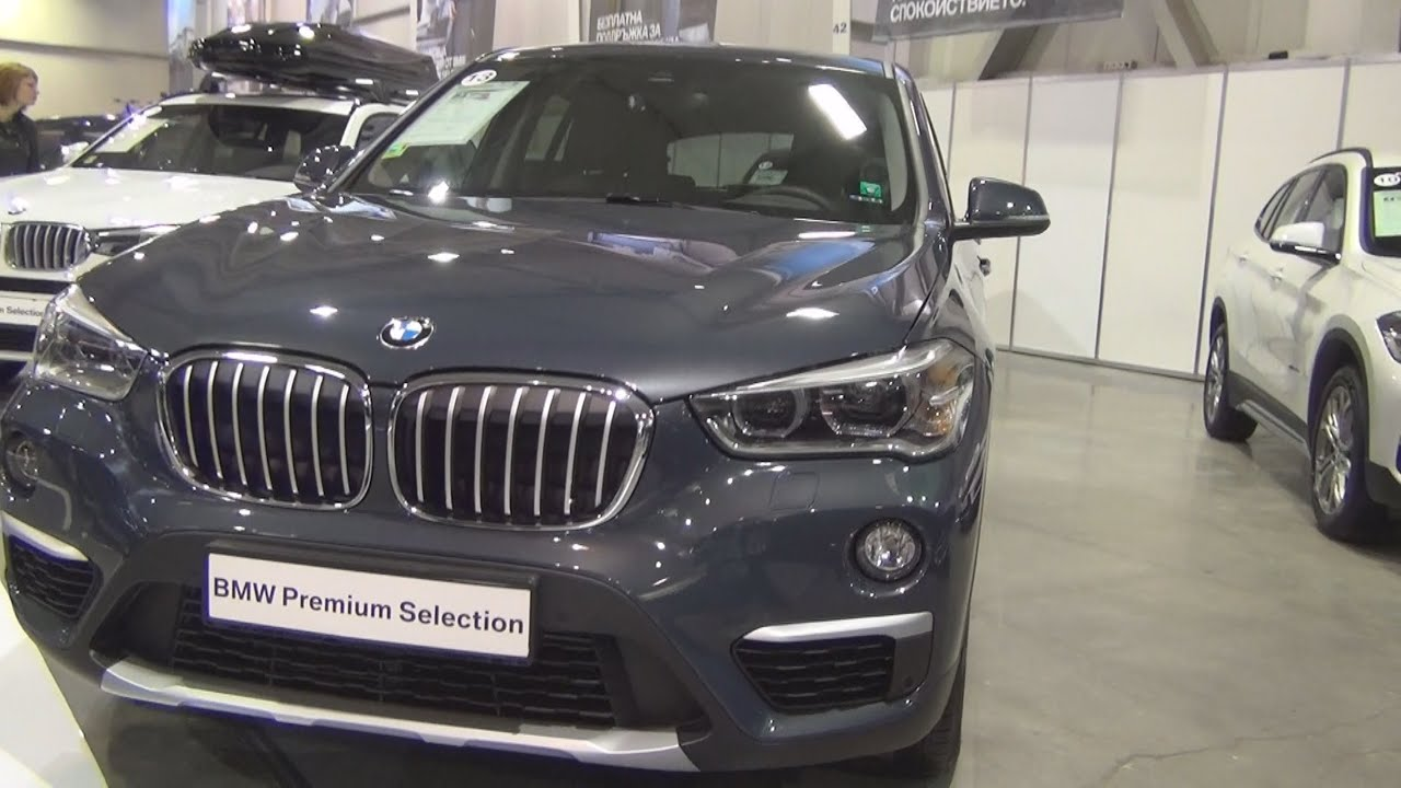 Bmw X1 Xdrive 20d Atlantic Grey 2016 Exterior And Interior In 3d