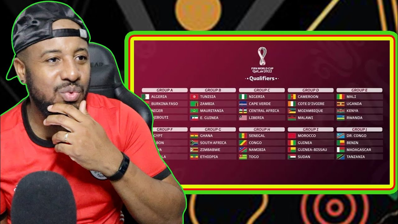 Africa S 2022 World Cup Qualifying 2nd Round Draw Reaction Early Predictions Youtube